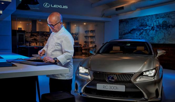 Lexus y Kabuki: fusión japonesa