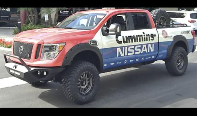 El Nissan Titan XD definitivo está en el SEMA 2015