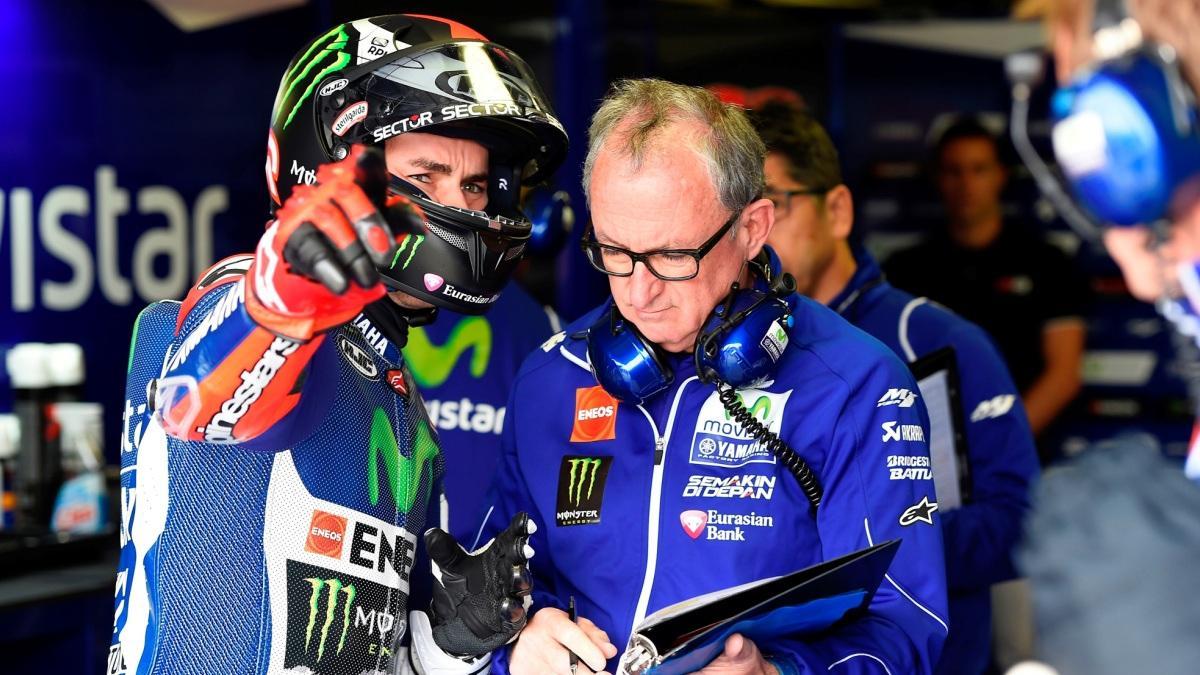 Movistar Yamaha se enfada con Jorge Lorenzo antes de Cheste
