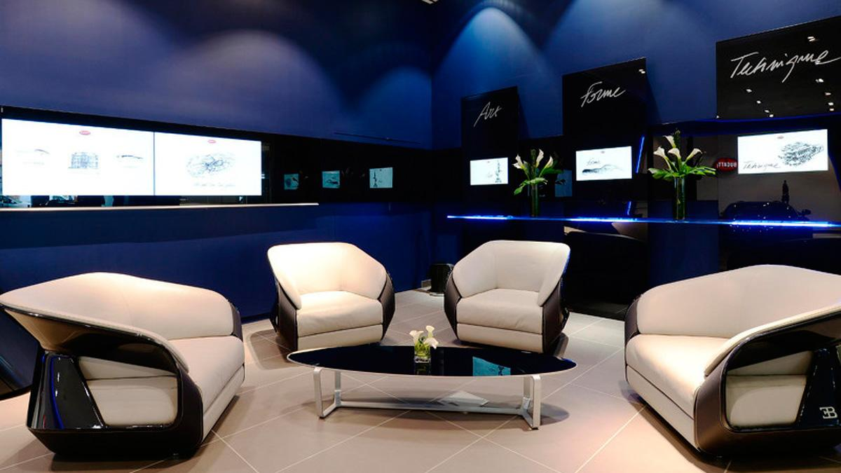 Bugatti Showroom 1