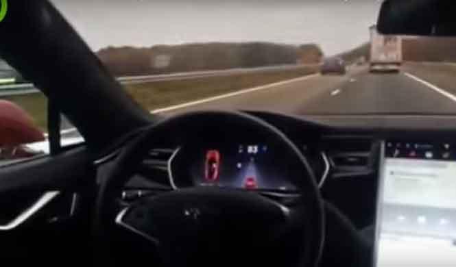 El idiota del día: cómo probar la conducción autónoma