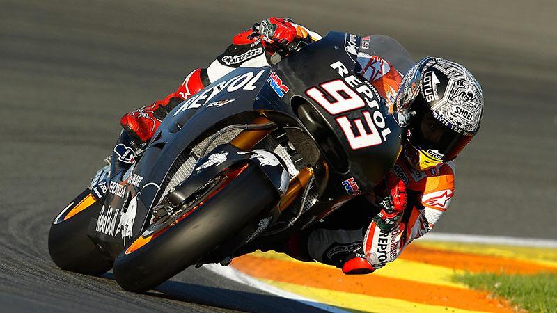 MotoGP Test Valencia (Día 2): Márquez reina en la igualdad