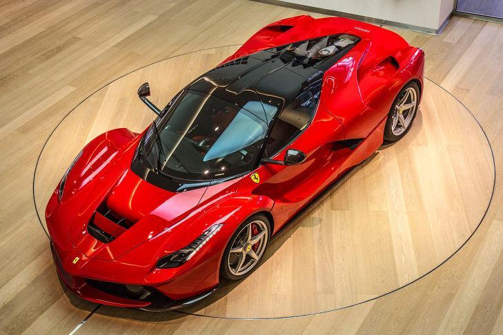 Un Ferrari LaFerrari a la venta en Reino Unido