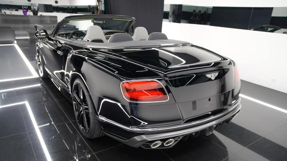 Bentley Continental GTC Startech trasera