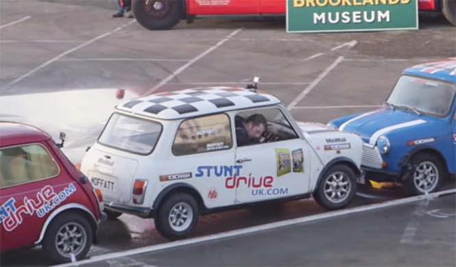 ¡Intenta imitarlo!: el mejor estacionamiento del mundo