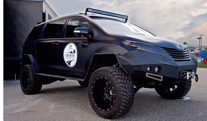 El coche perfecto para sobrevivir al apocalipsis zombie