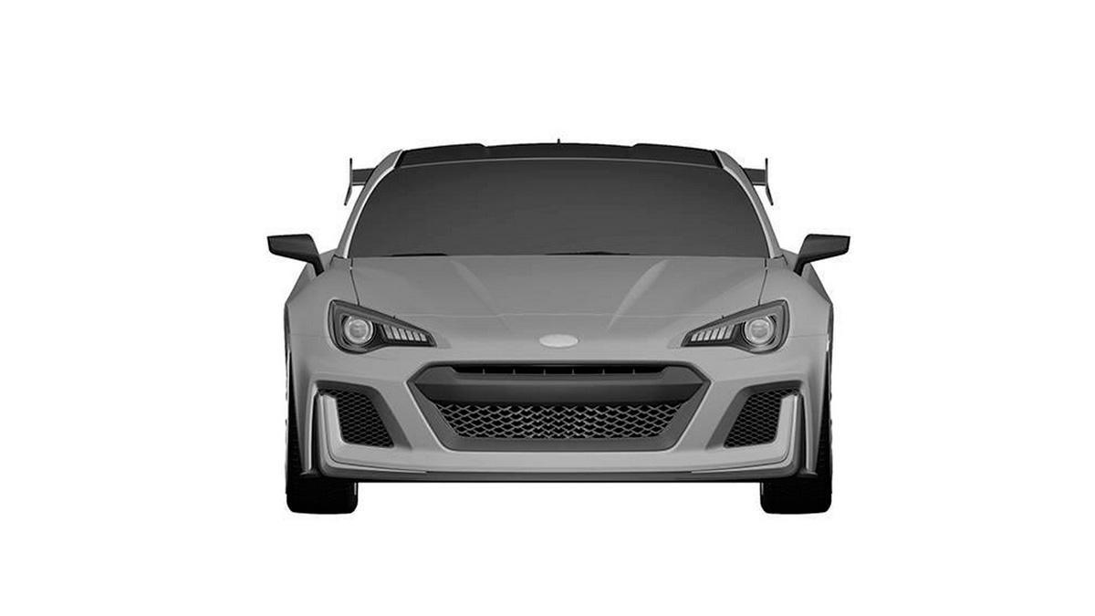 Subaru BRZ STI frontal