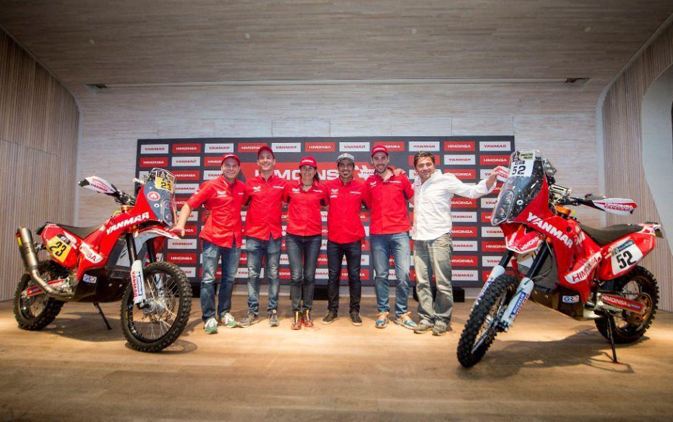Himoinsa Racing, equipo 100% español para el Dakar 2016