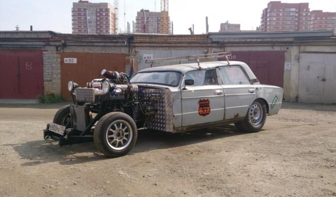 El primer Hot Rod ruso