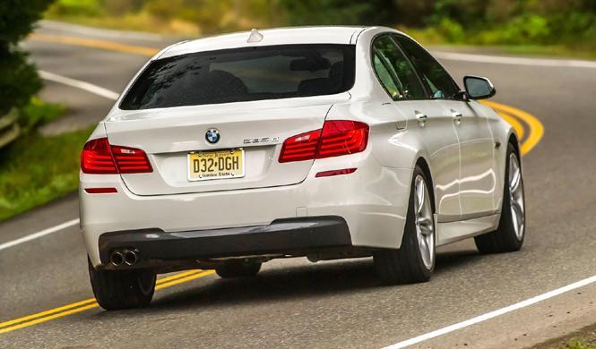 BMW llama a revisión a 7.200 unidades del Serie 5