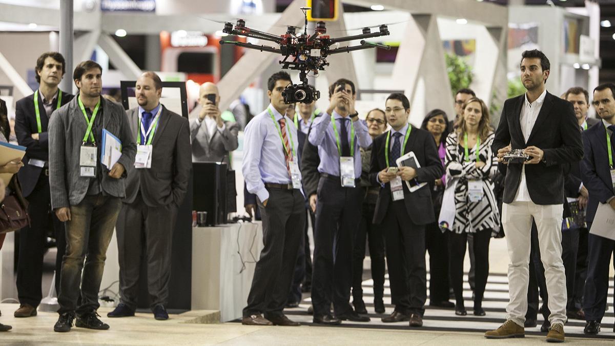 demostracion dron