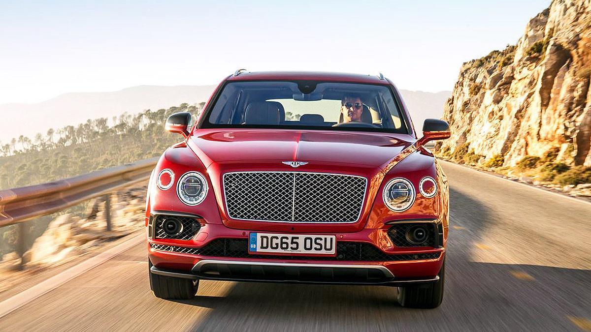 Prueba del Bentley Bentayga. Lujo x 4 morro