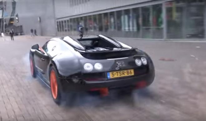 Esta es la quemada de rueda más cara del mundo