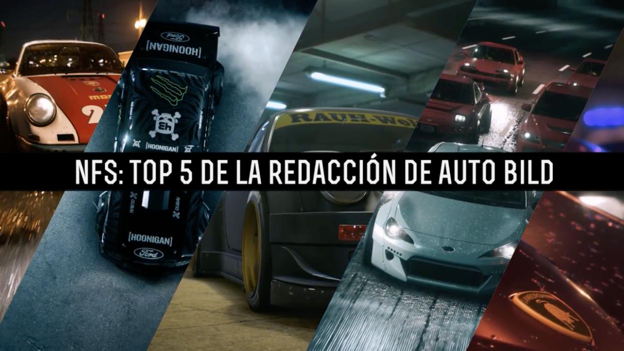 Need for Speed: el Top 5 de la redacción de AUTO BILD