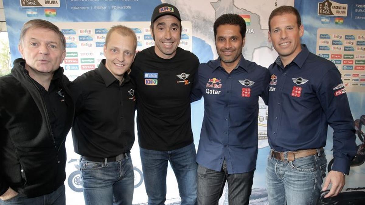"Nani Roma: ""se presenta un Dakar 2016 divertido"""
