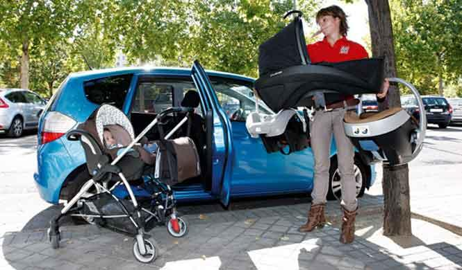 Uno de cada tres niños viaja incorrectamente en el coche