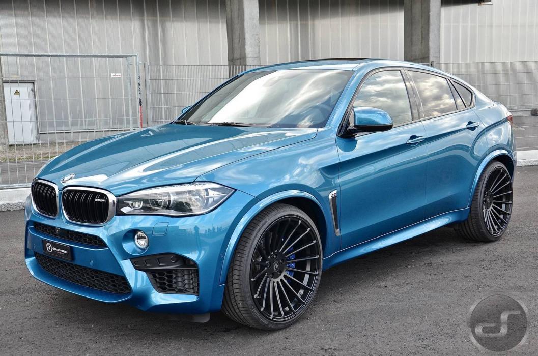 BMW X6 M by DS tres cuartos delanteros