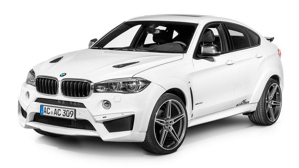 BMW X6 Falcon AC Schnitzer frontal