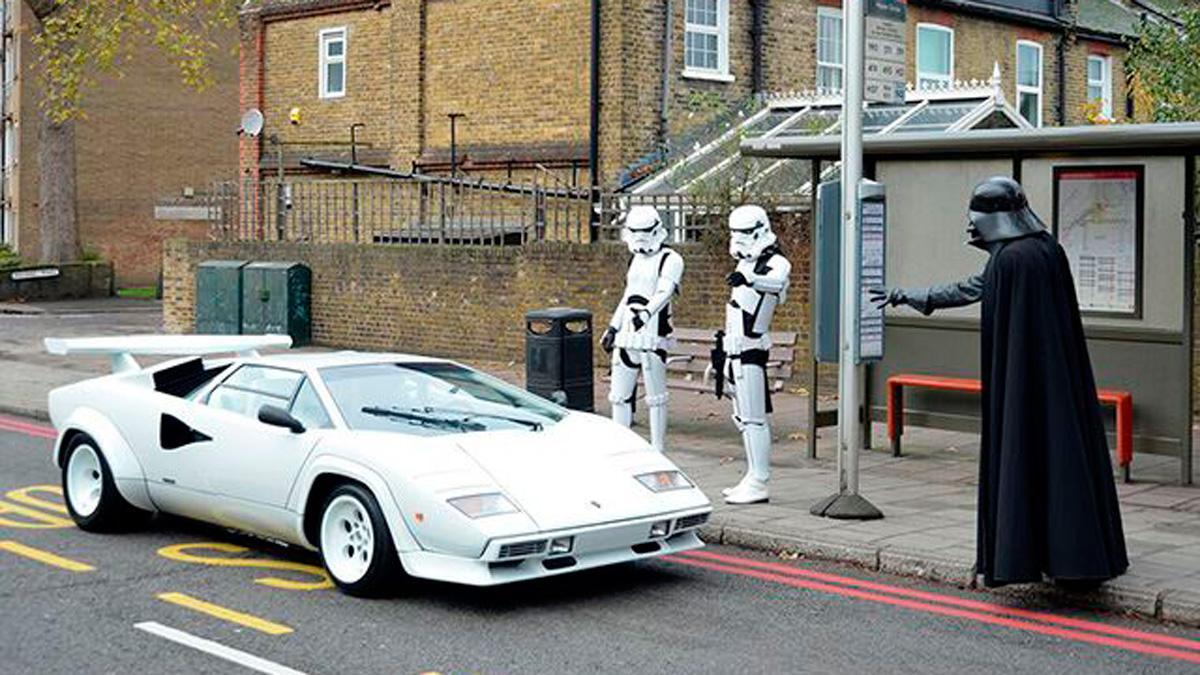 Lamborghini Countach Darth Vader