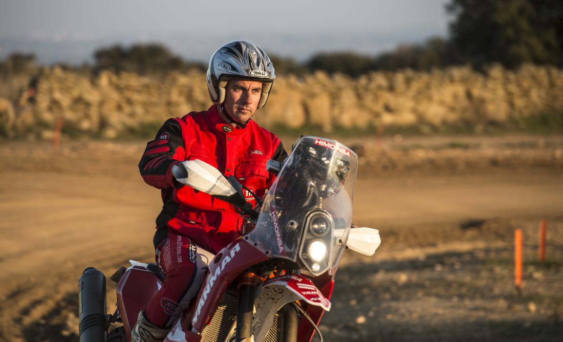Probamos la KTM 450 Rally Dakar del equipo Himoinsa