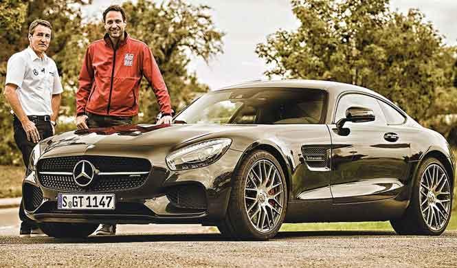 'Restyling' del Mercedes-AMG GT: así podría ser