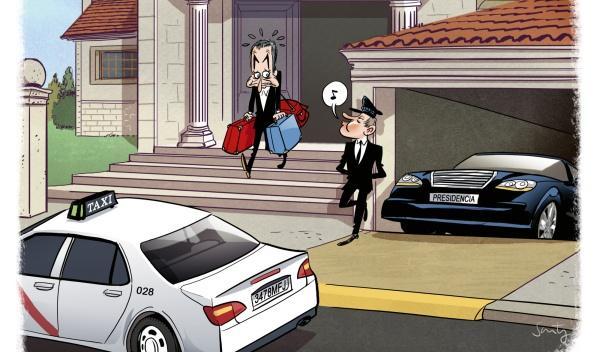 Los coches privados de los políticos, a debate