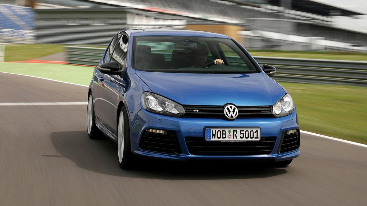 deportivos malos circuito Volkswagen Golf R Mk6