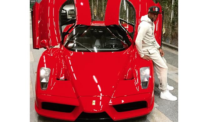 El Ferrari Enzo que fue de Mayweather a subasta en NY
