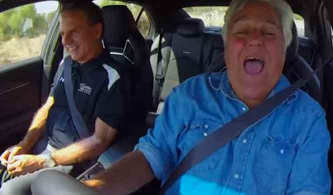 Jay Leno conduce el Cadillac CTS-V 2016