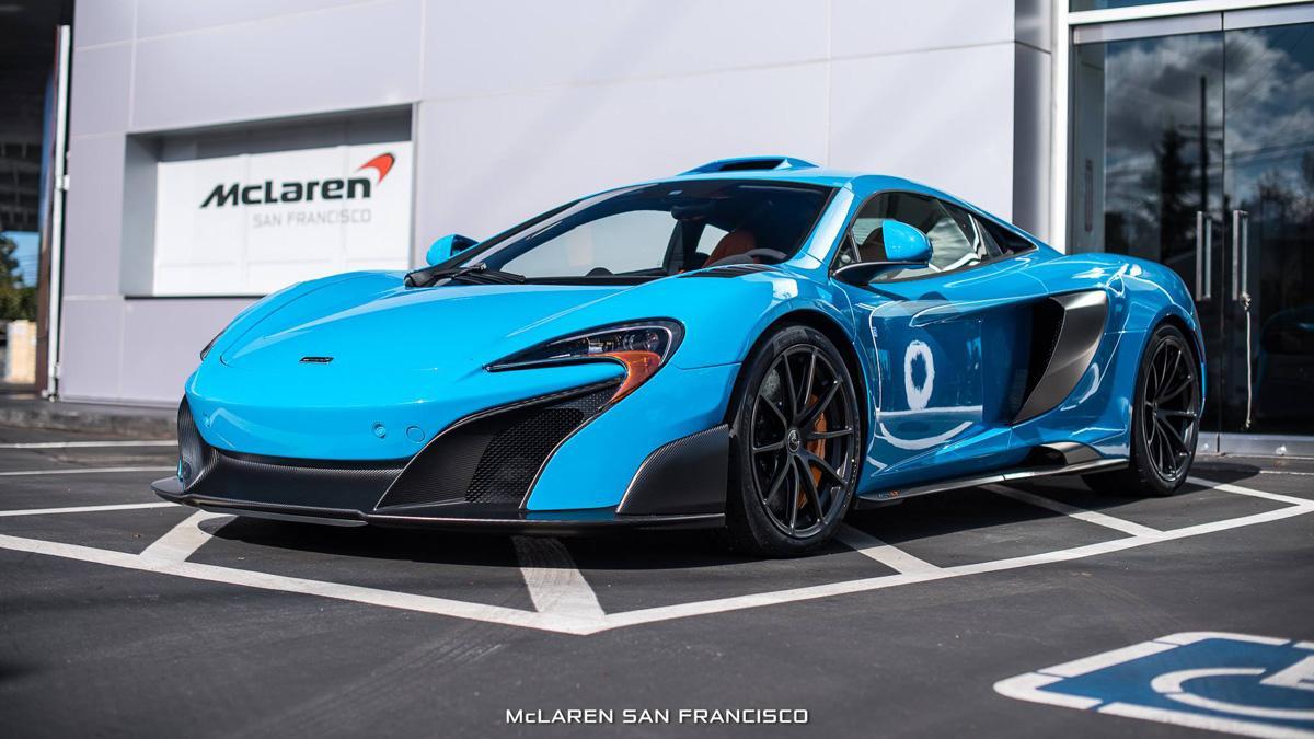 McLaren 675 LT MSO Mexico Blue
