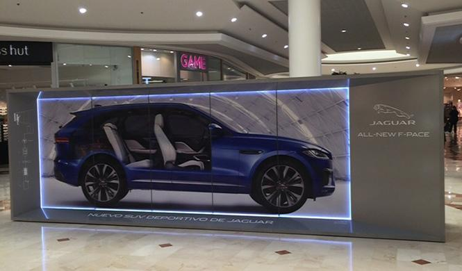 El jaguar F-Pace Recorre España tecnología 3D