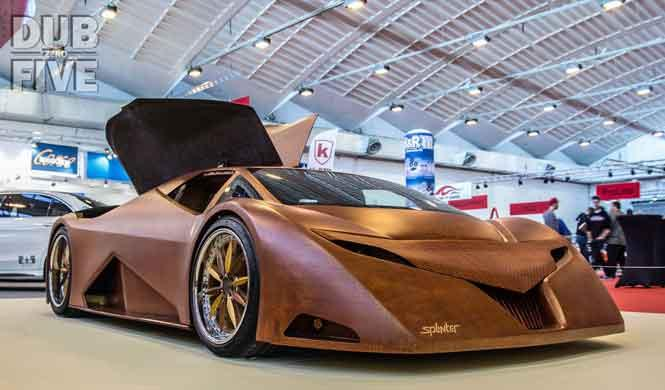 Un superdeportivo de 600 CV y de madera