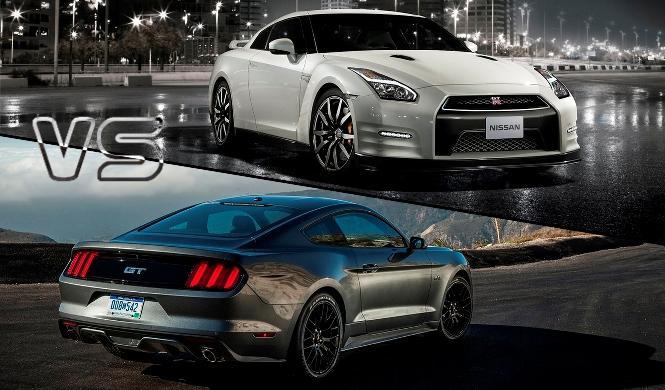 ¿Cuál es mejor, el Nissan GT-R o el Ford Mustang?