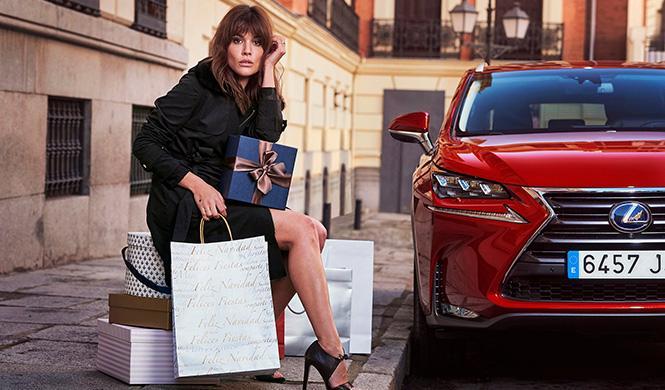 Adriana Ugarte Lexus Christmas Experience