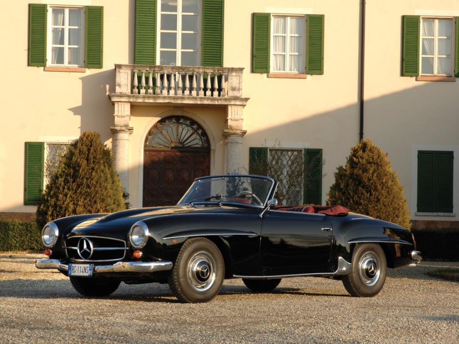 El Mercedes que, por fin, podrá correr en la Mille Miglia