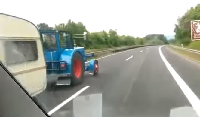 El adelantamiento más inesperado en una Autobahn