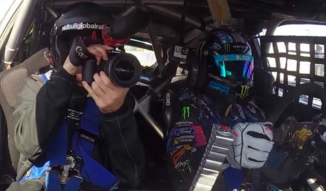 Vïdeo: vuelta 'onboard' con Ken Block en el Rallycross