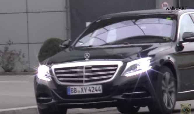 ¡El 'restyling' del Mercedes Clase S, cazado sin camuflaje!
