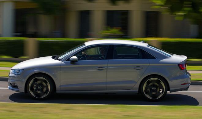 Audi A3 Sedán 2016: cazado con un morro inspirado en el A4