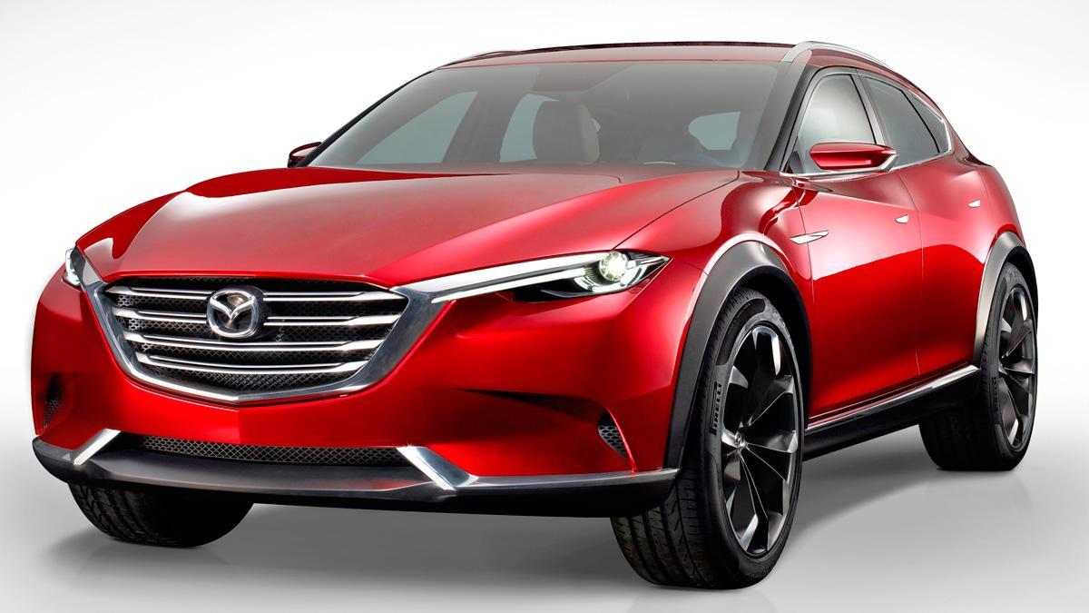 El Mazda Koeru, a producción