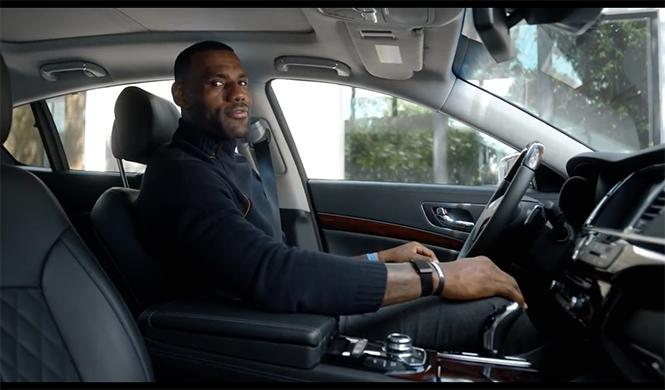 Anuncio Kia K900 Lebron James