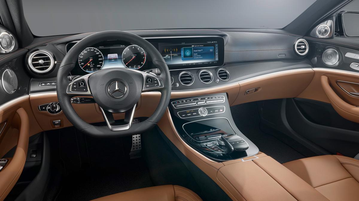 Mercedes Clase E 2016 interior