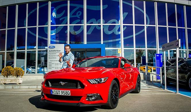 Dani Mateo embajador Ford Mustang España