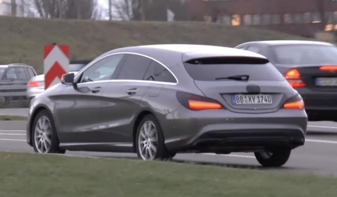 Pillados los 'facelift' de Mercedes CLA y Shooting Brake