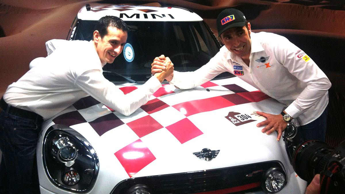 "Charlamos con Nani Roma ante el Dakar 2016: ""Podemos ganar"""