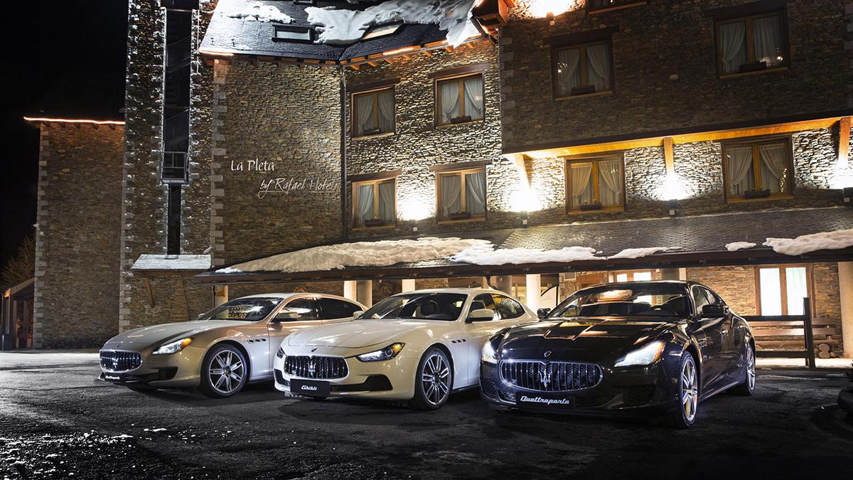 Maserati Winter Tour Baqueira Beret
