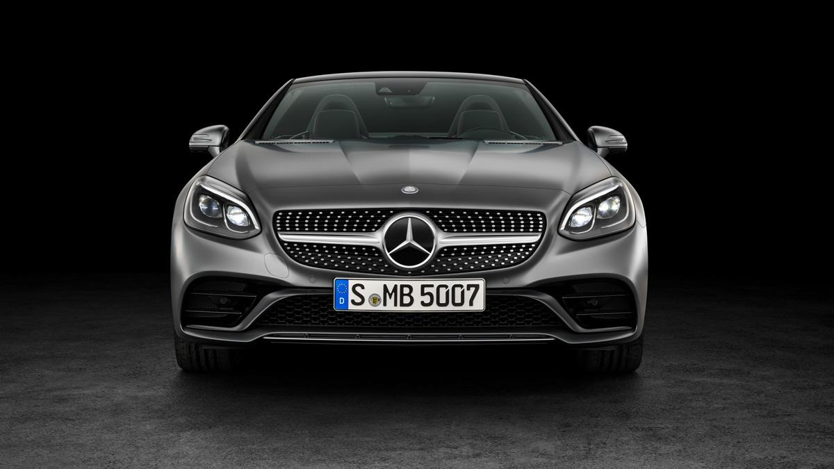 Mercedes SLC frontal