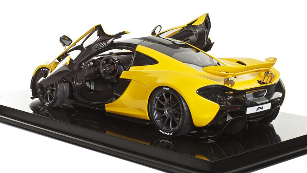 Maqueta McLaren P1