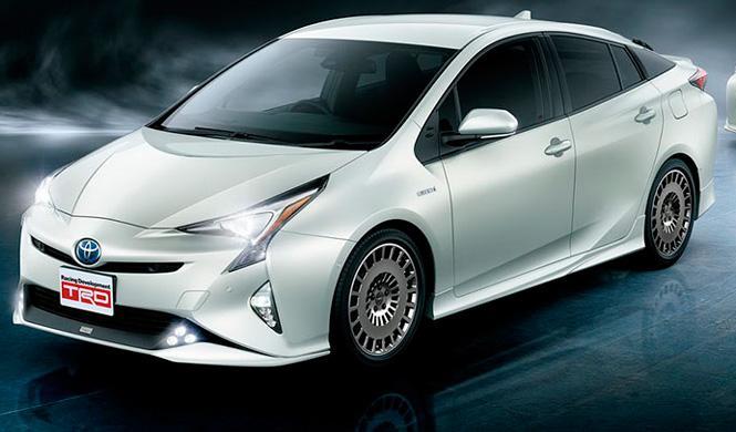 Toyota Prius TRD: más aerodinámico