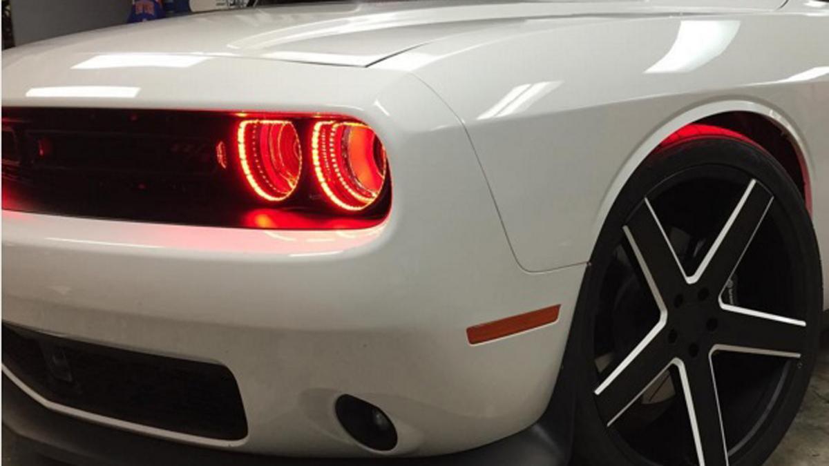 El furioso Dodge Challenger de Shaquille O'Neall